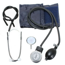 Aneroid Sphygmomanometer Arm Blood Pressure Monitor Single Dual Head Stethoscope