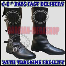 Medieval Leather Shoes Reenactment Mens Shoe Larp Role Play Renaissance Boots Ra