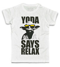 Men's T-shirt YODA SAYS RELAX FRANKIE GOES TO HOLLYWOOD