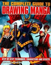 The Complete Guide to Drawing Manga,Marc Powell & David Neal,Acceptable Book mon