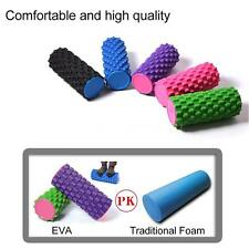 EVA Foam Trigger Point Yoga Roller Massage Muscle Relax Fitness Exercise NM N8G1