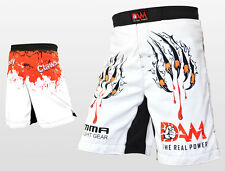 NEW DAM Pro MMA Fight Shorts  UFC Cage Fight Grappling MuayThai Boxing