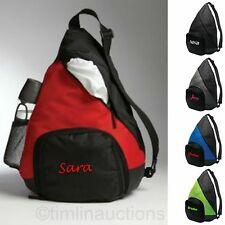 Large Shoulder Sling Sport Pack Backpack Beach Bag Gym School Travel Diaper Tote