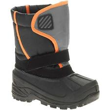 Boys' Youth Classic Black/Orange Temp Rated Winter Boots/Shoes: 12-5