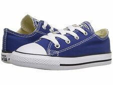 Converse Chuck Taylor All Star OX Roadtrip Blue Infant Toddler Boy Size 2-10