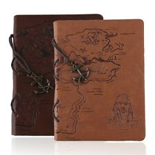 Retro Leather Vintage Classic String Blank Diary Journal Sketchbook Notebook QT