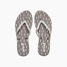 REEF STARGAZER PRINTS GREY WOMENS SANDALS FLIP-FLOPS NEW
