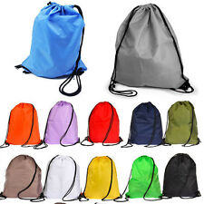 kids' clothes shoes bag School Drawstring Book Sport Gym bags PE Dance Backpacks