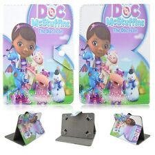 "Folio Fold Kids Cute Cartoon Series Leather Case Cover For 7"" 10"" Inch Tablets"