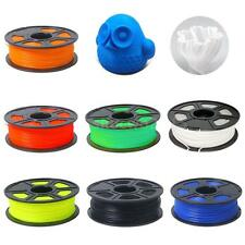3D Printer Filament 3mm/1.75mm 1kg/2.2lb PLA/ABS Plastic for Mendel RepRap T3D3