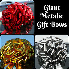 Very Big Giant Car/Large Bike Gift Bow in SHINY METALLIC + SUPERFAST DISPATCH!!