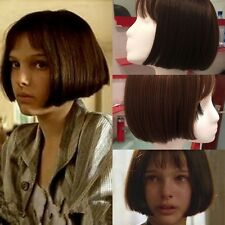 Hot Sale Short Straight BOB Cosplay Full Wig Synthetic Party Wigs Cap Women