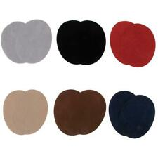 Pair Fabric Sew/Iron-on Oval Elbow Knee Patches DIY Repair Sewing Craft Applique