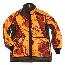 BROWNING - reversible fleece jacket - POWER - blaze orange/green - windproof