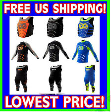 JET PILOT APEX 2016 Wet Suit w/ Life Vest Orange Yellow Black JP16140/JP16212