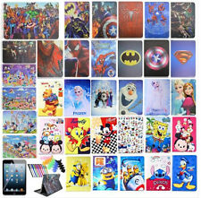 """For iPad Tablets Hot Cartoon Case PU Leather Stand  Magnetic Flip Cover 7.9"""" 9.7"""