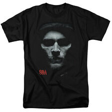 """Sons Of Anarchy """"Skull Face"""" Adult T-Shirt or Tank"""