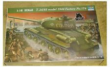 Trumpeter 1/16 Scale T-34/85 1944 Factory 174-Kit #00904
