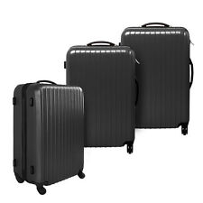 i.Life Bags NEW 3 Piece Hard Shell Travel Luggage Set