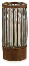 NEW Rustic Wire Cylindrical Pillar Candle Holder