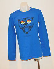 Quiksilver Boys Long Sleeve T Shirt- BLUE -SIZE - 10,12,14 & 16 Years- NEW