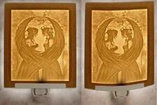 Amy Brown: Sisters Lithophane Night Light - Porcelain Nite Lite