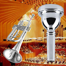 Trumpet Mouthpiece 5C Size Silver Nickel-plated Musical Instrument New SL
