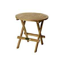 Aussie Outdoor Teak Furniture Outdoor Tables NEW Round Folding Picnic Table