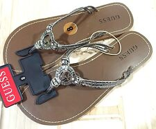 NWT Womens Guess Thongs Sandals Flip Flops Size 8 or 10