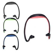 Sport MP3 WMA TF/ Micro SD Card Slot Wireless Headset Headphone Earphone A4G5