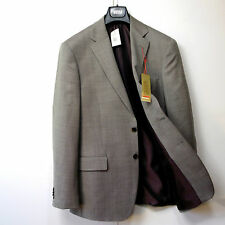 "New M&S COLLEZIONE Tailored WOOL Blend BLAZER ~ Size 40"" Long ~ BROWN MIX"