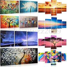 Multicolored Zebra & Sunset & ABSTRACT Canvas Print Wall Art Painting NO frame