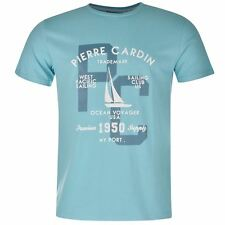 T-Shirt PIERRE CARDIN Print Sailing Homme / Mens Tee Shirt TShirt NEW
