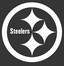 "PITTSBURGH STEELERS VINYL CAR WINDOW DECAL STICKER - LARGE 8"" 12"" 22"" PICK SIZE"