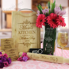 Deluxe Mothers Day 7 Piece Gift Pack Present Idea for Mum Grandma Nan Engraved