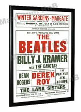 The Beatles Billy J Kramer Concert Poster Margate 1963