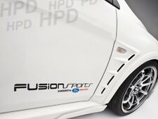 Fusion Sports Powered by Ford Car Decal Vinyl Sticker Fiesta Focus Rally RS
