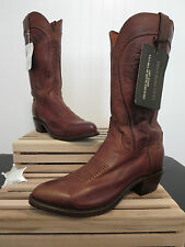 """Lucchese 1883 Men's """"Bart"""" Ranch Hand Leather Cowboy Boot N1596 J/4"""