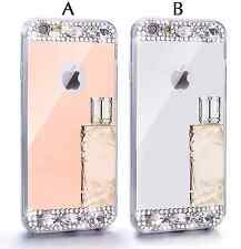 Bling Rhinestone Diamond Crystal Metal Mirror Case For Apple iPhone6/6S/6+/6S+