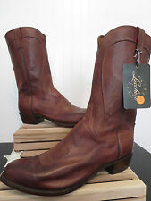 """Lucchese 1883 Men's """"Bart"""" Ranch Hand Leather Cowboy Boot N1596 R/4 Size 15 EE!"""