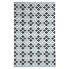 Fab Rugs Rugs NEW Megh Blue Cotton Rug