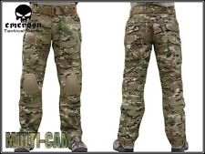 Emerson Military Tactical G2 Airsoft Pants w/ Detachable Knee Pads Multicam