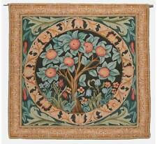 """'ORANGE TREE' French Woven William Morris Quality Tapestry Wall Hanging 33""""x 34"""""""