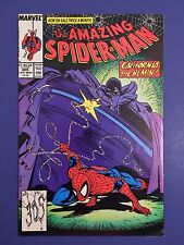 Amazing Spiderman #305 Marvel Comic Book LOT 1988 Todd McFarlane BLACK FOX VF