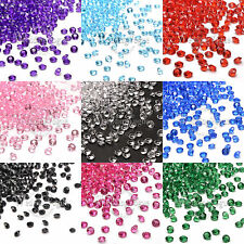 10000 Diamond Confetti Plasti Wedding Party Table Scatter Decor 4.5mm 1/3 Carat