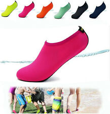 Aqua Socks Shoe Snorkeling Swimming Surf Water Skin Shoes Fin Socks Pink fitness
