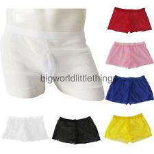 Sexy Thin See-Through Men's Voile Boxer Briefs Sheer Trunks Underwear Panties