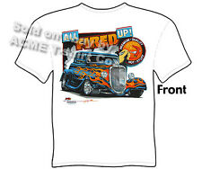 Hot Rod T Shirts Ford Shirt Automotive Shirts 1933 1934 33 34 Coupe All Fired Up