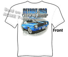 Camaro Shirt Chevy T Shirts Chevrolet Apparel Muscle Car Clothing 1969 Tee