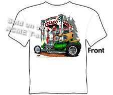 Hot Rod T Shirts Ford Shirt Automotive Shirts 1923 23 Model T Roadster Texaco